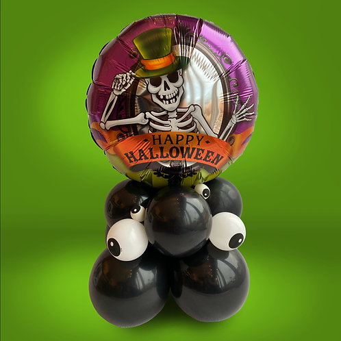 18 Inch Halloween Foil on Googly Eye Balloon Base