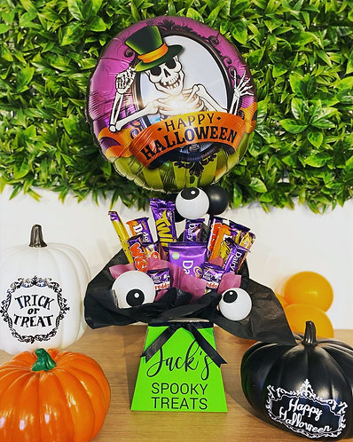 Personalised Spooky Treat Box for Halloween