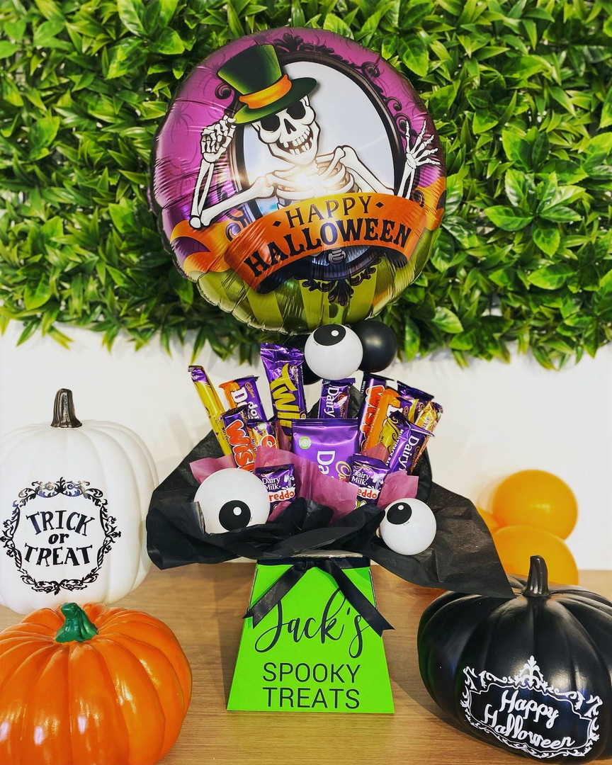 Personalised Spooky Treat Box Halloween.