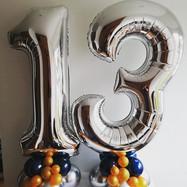 Large Number Foils on balloon bases