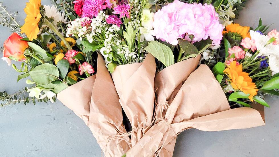 """Fresh"" flower bouquet"