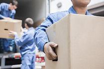 Démontage du mobilier, l'emballage et la mise en carton