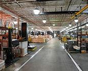 Capacité de stockage de 2000 m²répartie sur plusieurs plateformes