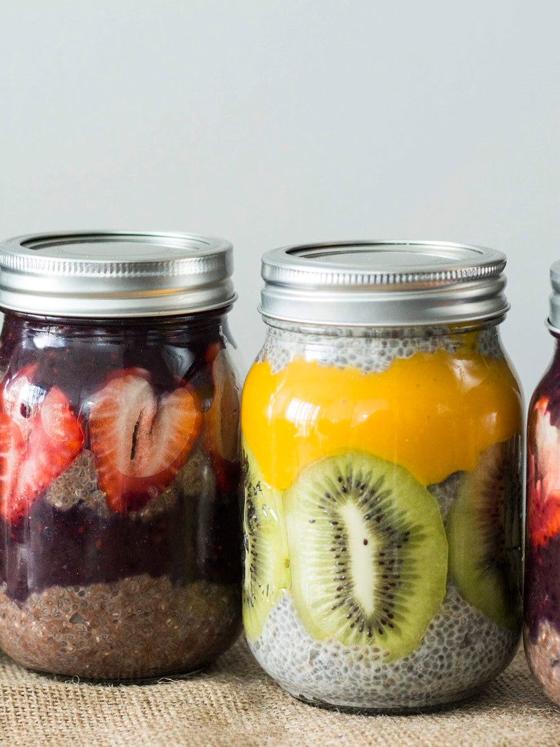Chia jars, 500 ml