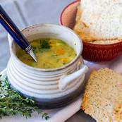 Split pea Vegetable chowder
