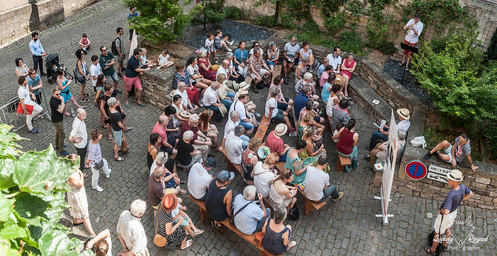 Festival Cordes sur Ciel-Impromptu 2019.