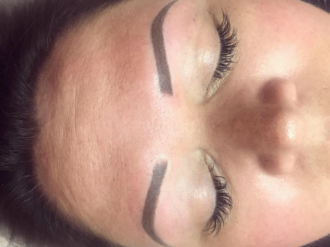 🌸Semi Permanent Powdered Brows 🌸