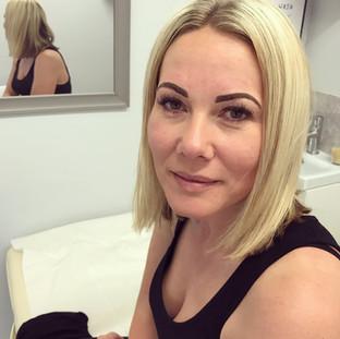 Semi Permanent Eyebrow Tattoo
