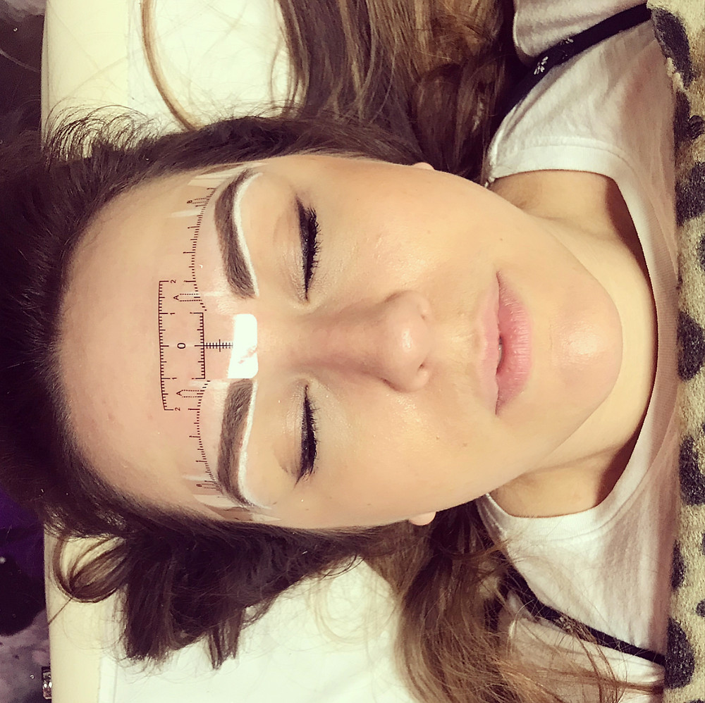 Semi permanent make up, Eyebrows, Made Up, Chelmsford, Hair Stroke Brow, Permanent Eyeliner, Lip tattoo