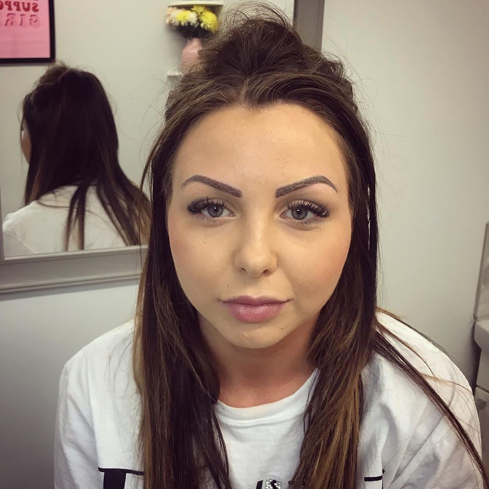 Permanent Make Up, Eyebrow Tattoo, Ear Piercing, Semi permanent make up, Eyebrows, Made Up, Chelmsford, Hair Stroke Brow, Permanent Eyeliner, Lip tattoo