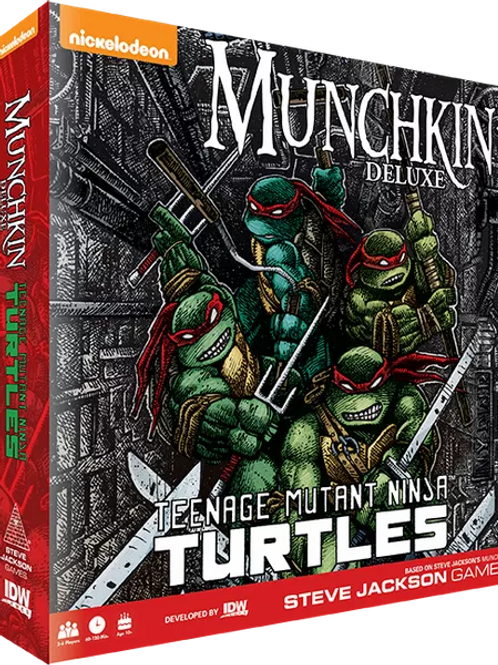 Munchkin Deluxe: Teenage Mutant Ninja Turtles