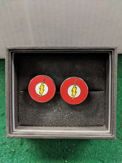 Flash Symbol Cuff Links