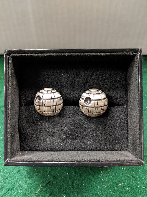 Death Star 3D Cuff Links