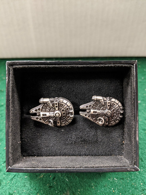 Millennium Falcon 3D Cuff Links