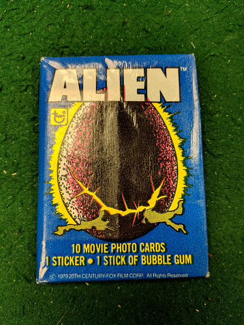 Alien movie photo collector cards