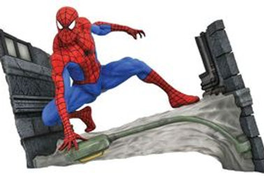 Marvel Comic Gallery Spider-Man Webbing PVC Diorama