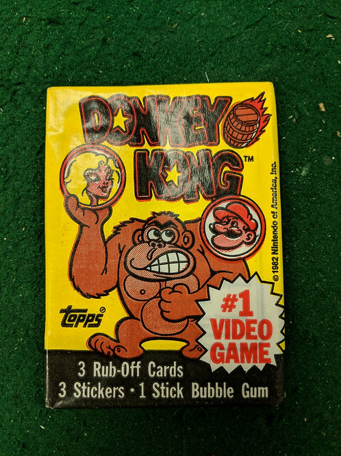 Donkey Kong Collector Cards
