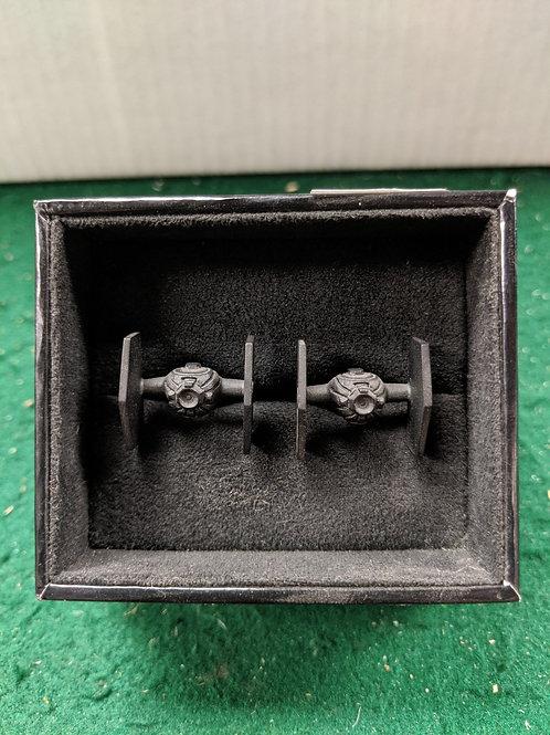 Tie Fighter 3D Cuff Links Black