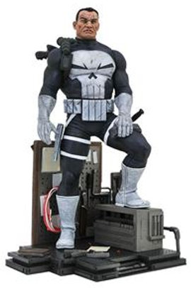 Marvel Comic Gallery Punisher PVC Diorama