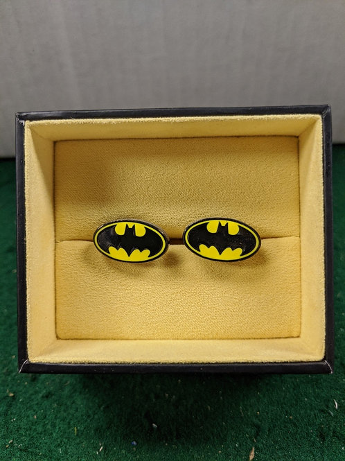 Batman Circle Symbol Cuff Links