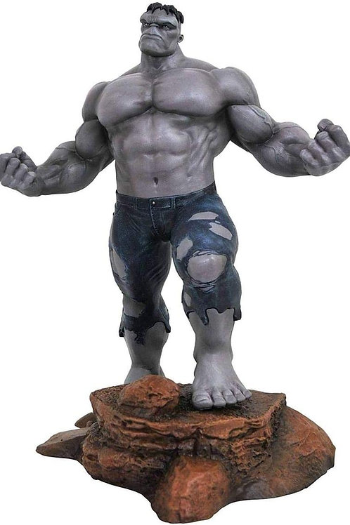 Diamond Select Toys Marvel Gallery Hulk PVC Statue (Variant SDCC 2018 Grey)