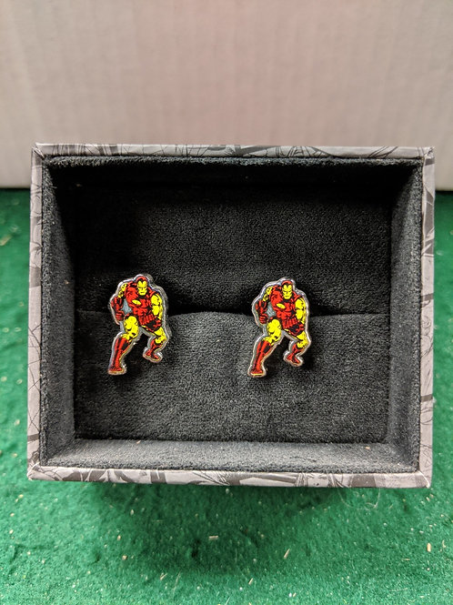 Iron Man Classic 80's Armour Cuff Links
