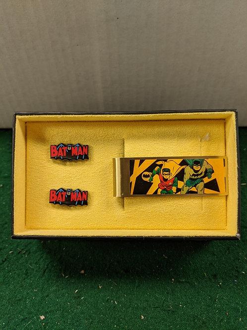 Batman 66' Money Clip and Cuff Links Set