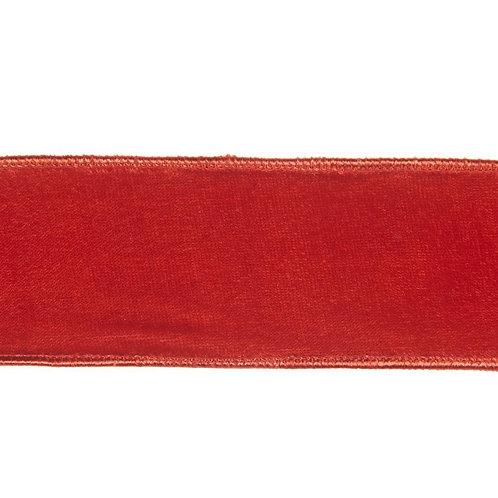 Lint rood fluweel