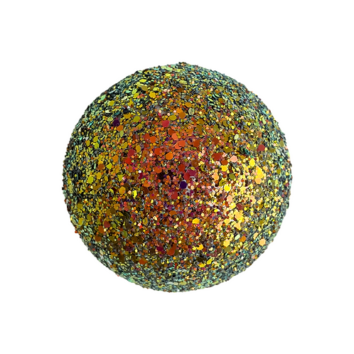 Kunststoffen glitter bal