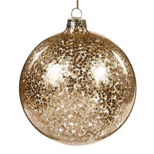 Bal met gouden sterren