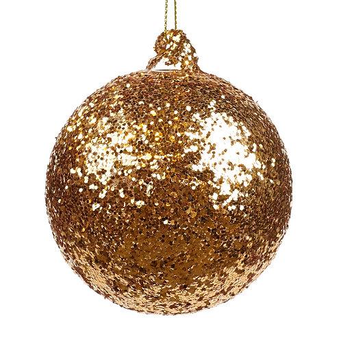 Goud glitter bal