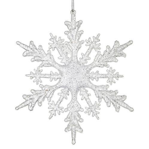 Glitter sneeuwvlok