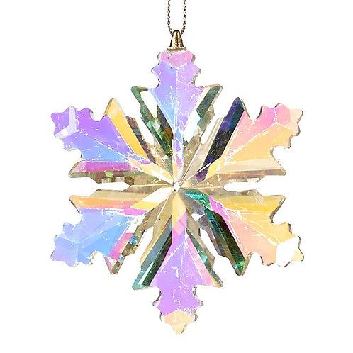 Kristallen sneeuwvlok