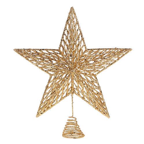 Gouden piek ster