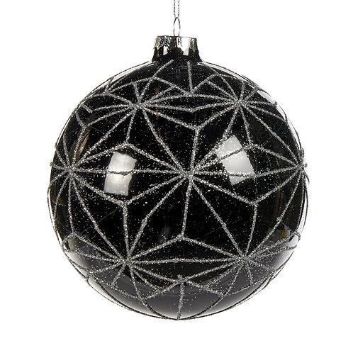 Bal met moderne ster-print