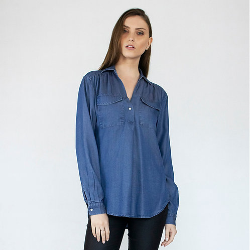 CAMISA TENCEL JEANS