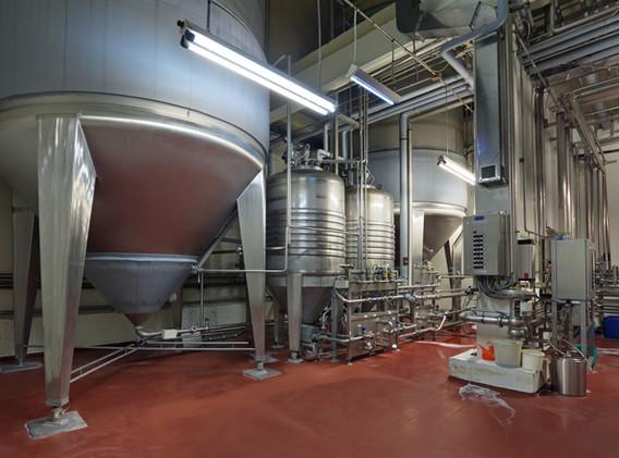 Brewing production - fermentation depart