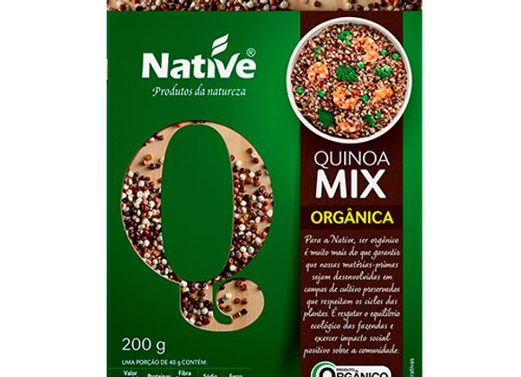 Quinoa Orgânico Mix Branco e Vermelho 200g I Native