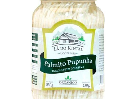 Palmito Orgânico Pupunha Espaguete 230g I  Lá do Kintal