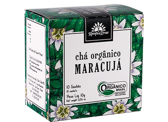 Chá Orgânico Maracujá 10 sachês I Kampo de Ervas