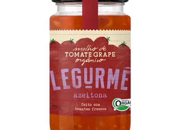 Molho de Tomate Orgânico Azeitona 340g I Legurmé