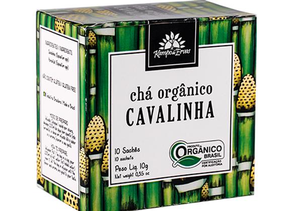 Chá Orgânico Cavalinha 10 sachês I Kampo de Ervas