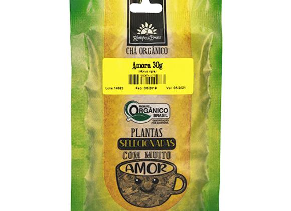 Chá Orgânico Amora 30g I Kampo de Ervas