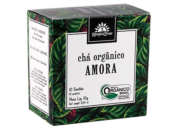 Chá Orgânico Amora 10 sachês I Kampo de Ervas