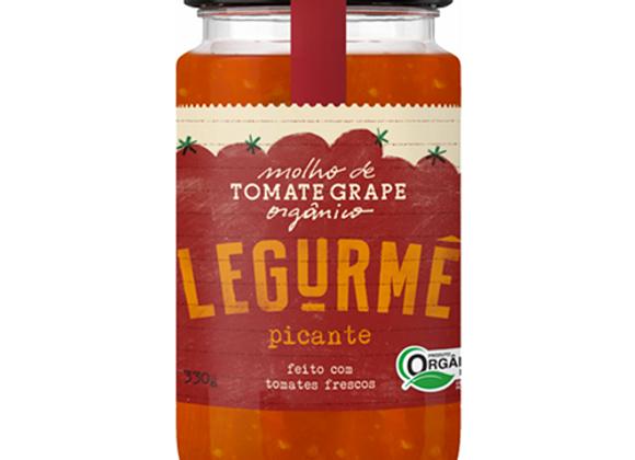 Molho Tomate Orgânico Picante 340g I Legurmé