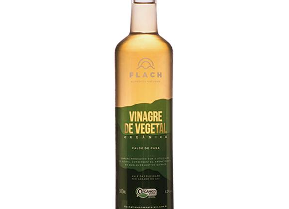 Vinagre Orgânico Caldo Cana Vidro 500ml I Flach