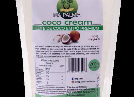 Leite em pó de coco Premium 200g I Na Palma
