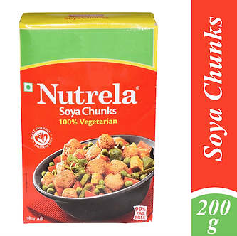 Soya Chunks  NUTRELA   200g