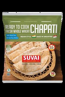 Ready To Cook Whole Wheat Chapati 10pcs  SUVAI   425g