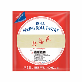 Spring Roll Pastry 215mm DOLL   400g